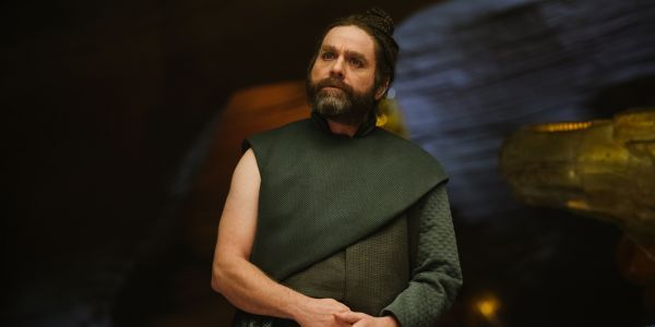 Zach Galifianakis Interview: A Wrinkle In Time