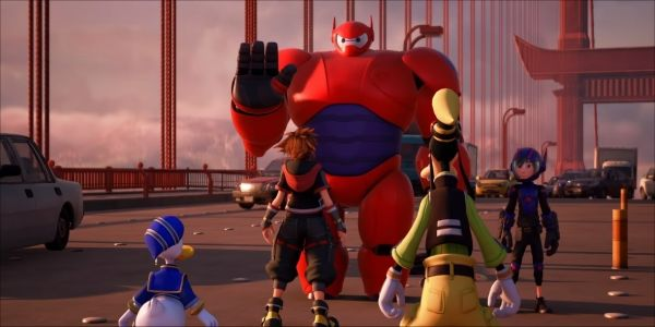 New Kingdom Hearts III Trailer Includes Big Hero 6