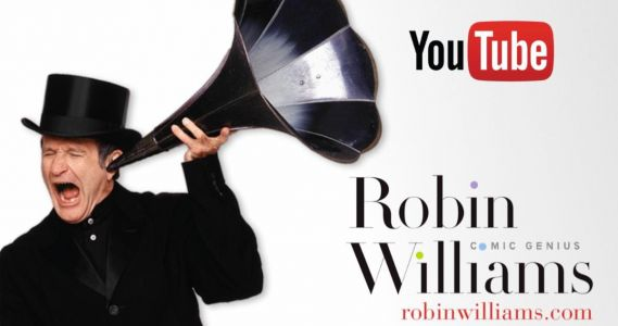 Official Robin Williams Youtube Channel Launches for April Fools' Day