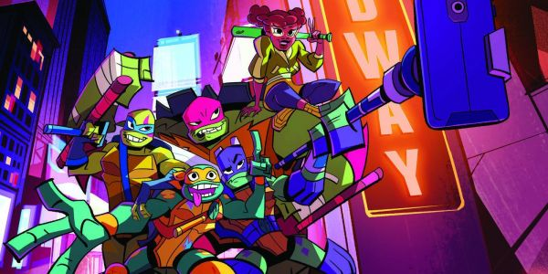 RISE OF THE TEENAGE MUTANT NINJA TURTLES Trailer, Clip And Character Images Debut At SDCC