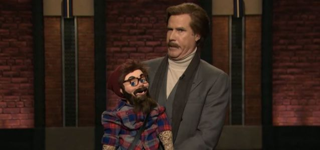 VOTD: Ron Burgundy Did Stand-Up on Six Late Night Shows Last Night