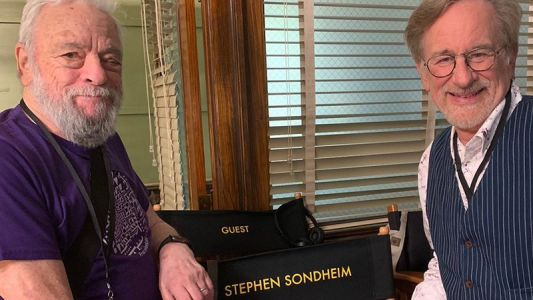 Stephen Sondheim Visits the Set of New West Side Story!