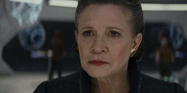 How Carrie Fisher's Death Caused Technical Difficulties On The Set Of Star Wars: The Last Jedi