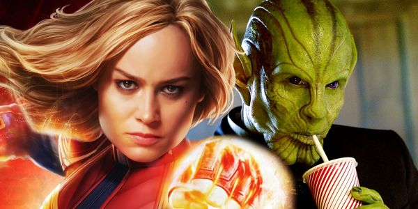 Captain Marvel: Brie Larson & Skrulls Dance To 'Push It' in BTS Video