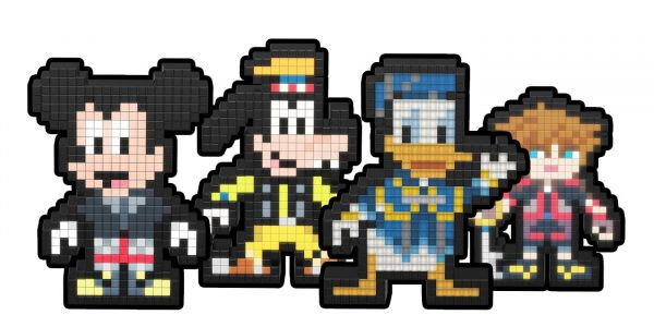 PDP's Pixel Pals Adds New Kingdom Hearts Collectibles