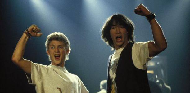 Alex Winter Downplays 'Bill and Ted 3' Production Worries from Keanu Reeves