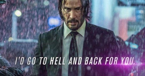 John Wick 3 Valentine's Day Cards Promise Hot Action and a