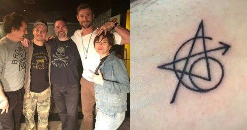 Jeremy Renner Explains Avengers Tattoo, Pokes Fun at Mark