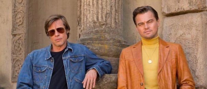 'Once Upon a Time in Hollywood' First Look Reveals Leonardo DiCaprio and Brad Pitt in Character