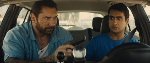 'Stuber' Stars Kumail Nanjiani and Dave Bautista on Testing Their Limits and the Buddy Action Movies That Inspired Them