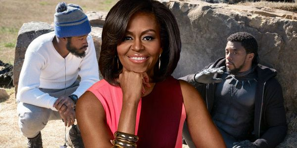 Michelle Obama 'Loves' Marvel's Black Panther