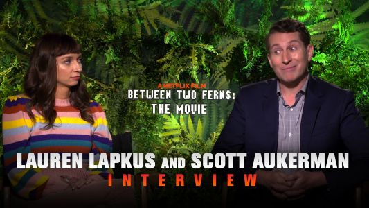 CS Video: Scott Aukerman & Lauren Lapkus Talk Between Two Ferns: The Movie