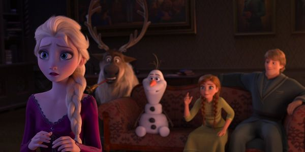 Frozen 2 D23 Footage Features An Interrupted Marriage Proposal, And A Brand New Song