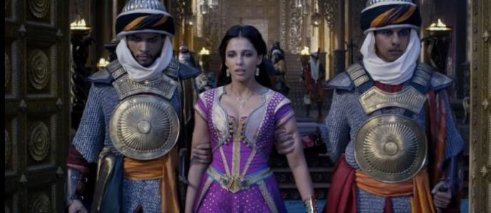 'Aladdin' Clip: Princess Jasmine Won't Go Speechless in Breakout Musical Moment
