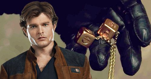 Han's Gold Dice Finally Explained in Solo: A Star Wars