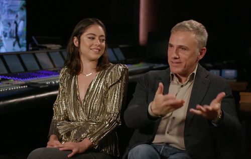 CS Video: Rosa Salazar & Christoph Waltz on Alita: Battle Angel