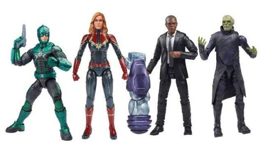 Captain Marvel Gets Legends Figures From Hasbro