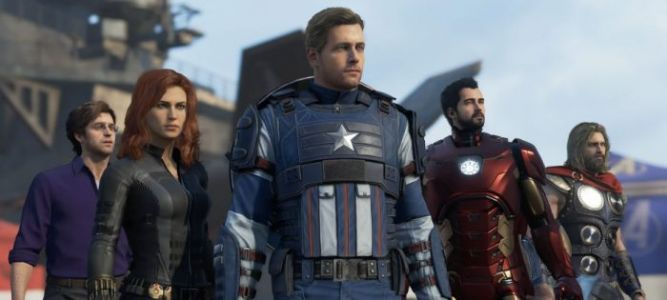 'Avengers' Video Game Footage Shows Iron Man, Captain America, Thor, Black Widow, and Hulk in Action