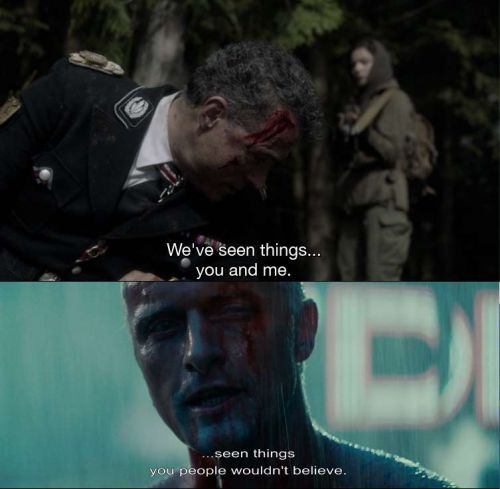 Shared imagery - Blade Runner & Man in the High Castle