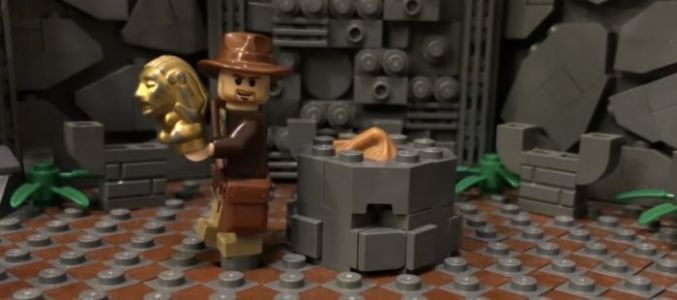 VOTD: Massive 'Indiana Jones' LEGO Diorama Brings 'Raiders of the Lost Ark' Opening to Life