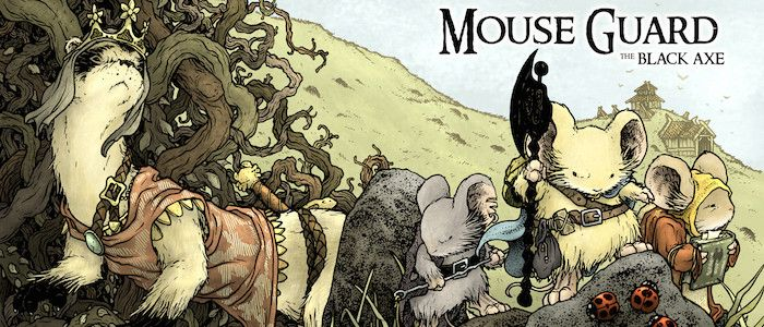 'Mouse Guard' Movie Adds Idris Elba as an Obi-Wan Kenobi Type of Mouse