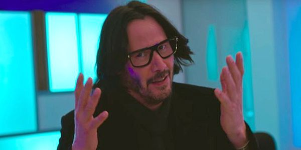 Watch Keanu Reeves Record Lines For Toy Story 4