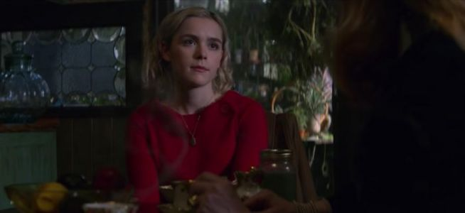 'Chilling Adventures of Sabrina' Clip: Sabrina Wants to Postpone Her Dark Baptism