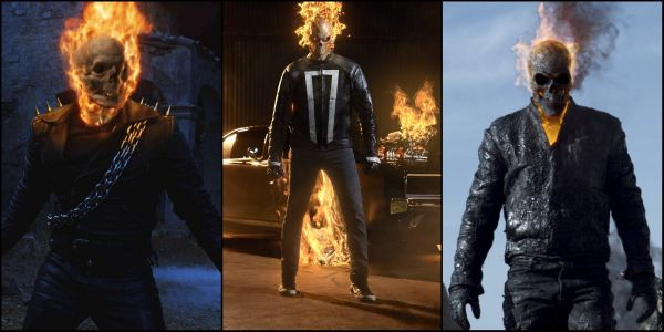 Ghost Rider Live-Action Costume Evolution | ScreenRant