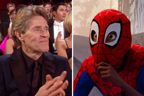 The 'Into the Spider-Verse' Oscar Win Included a Hilarious Willem Dafoe Cameo