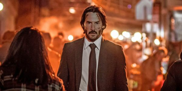 Keanu Reeves Escapes On A Horse In New John Wick 3 Photo