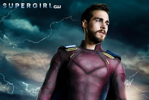 New Supergirl Poster Shows Mon-El Fully Suited Up