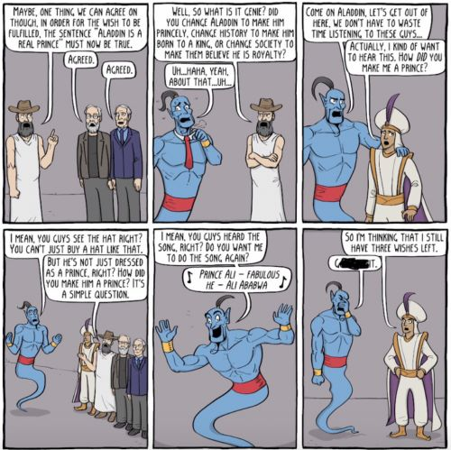 "When the Genie turned Aladdin into ""Prince Ali"", what exactly did that entail?"