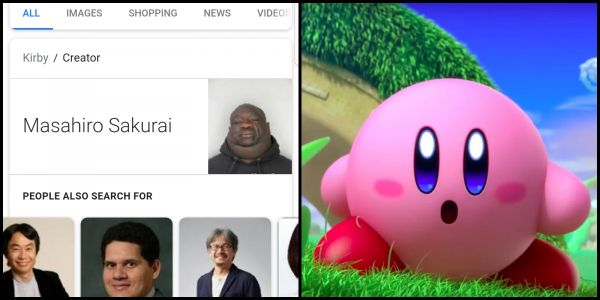 "How A Google Glitch Created The ""Who Created Kirby?"" Meme"
