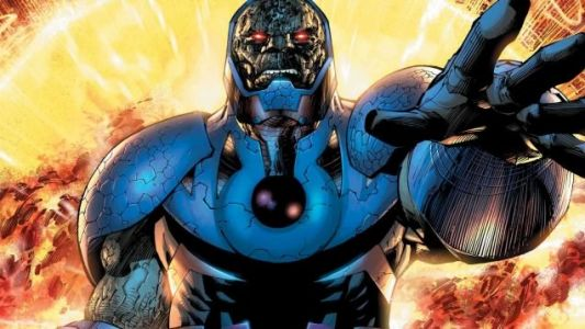 Zack Snyder Gloats About Snyder Cut With A Difficult To See Picture Of Darkseid