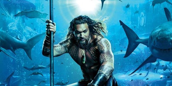 Check Out Aquaman's Ocean Master And Vulko Riding Cool Underwater Creatures