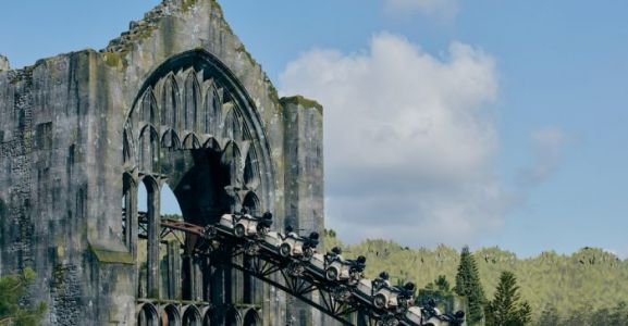 POV Video Gives a Sneak Peek at Hagrid's Magical Creatures Motorbike Adventure