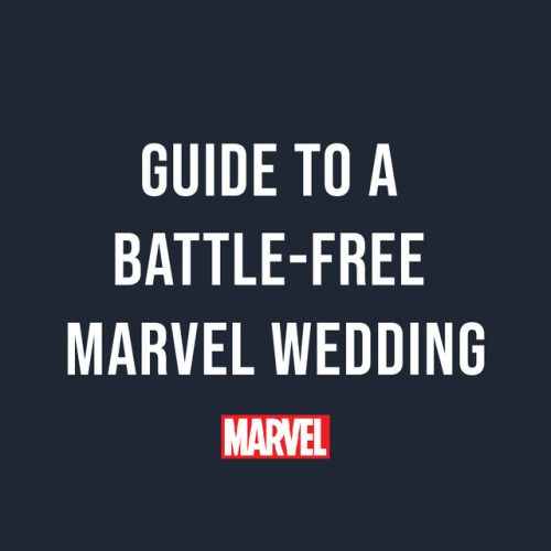 Invite Spider-Man to your wedding and you're 50% more