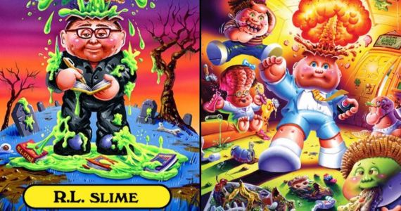 R.L. Stine and Garbage Pail Kids Team Up for New Book Series