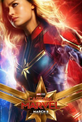 Captain Marvel Movie (2019) - Character Posters