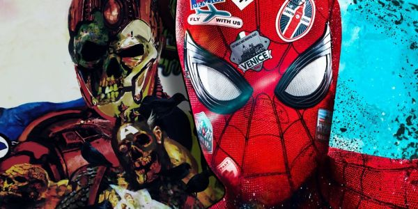 Zombie Iron Man Officially Revealed in New Spider-Man Photos