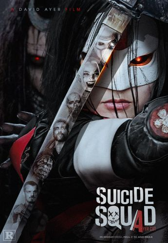 """SUICIDE SQUAD """"Ayer Cut"""" Fan-Made Poster Focuses On An Enchantress-Controlled Katana"""