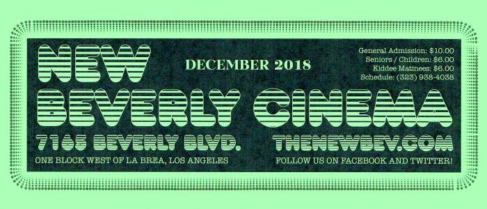 The New Beverly in Los Angeles Reopens in December, Check Out the Exciting New Schedule