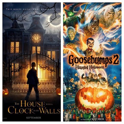 The House With A Clock In Its Walls (2018) & Goosebumps 2: Haunted Halloween (2018) Reviews