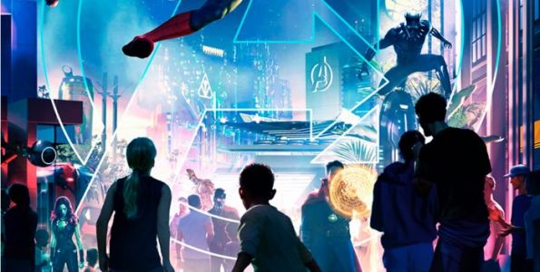 Marvel Land Ride Details Revealed For Disney California Adventure