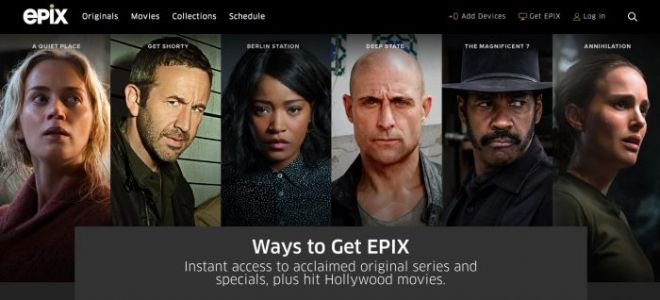 Epix Jumps into the Streaming Service Wars with Epix Now, Offering MGM's Entire Library