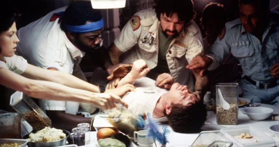 Original Alien Chestburster Scene Fascinated and Confounded Director Stanley Kubrick