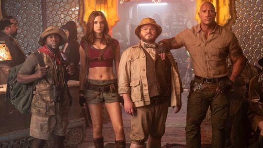 The Band Is Back In First Jumanji 3 Set Photo