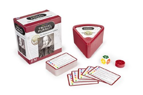 Trivial Pursuit: The Shakespeare EditionHas Just Been Released: Answer 600 Questions Based on the Life & Works of William Shakespeare