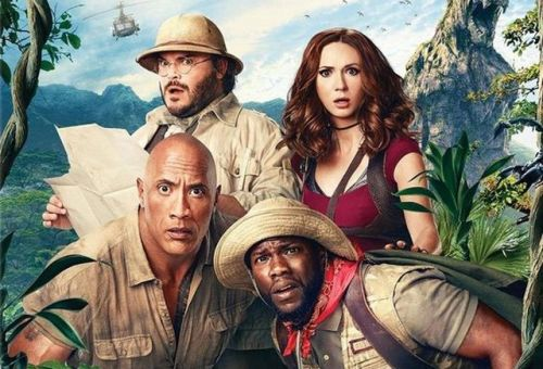 Jumanji: Welcome to the Jungle Digital and Blu-ray Release Details