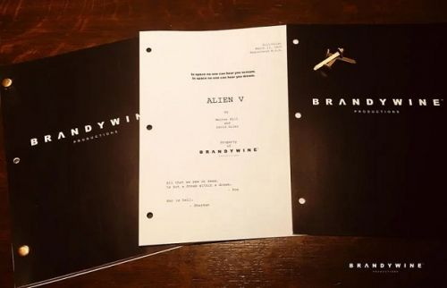 ALIEN 5: Latest Draft Of The Screenplay Was Actually Worked On As Recently As This March